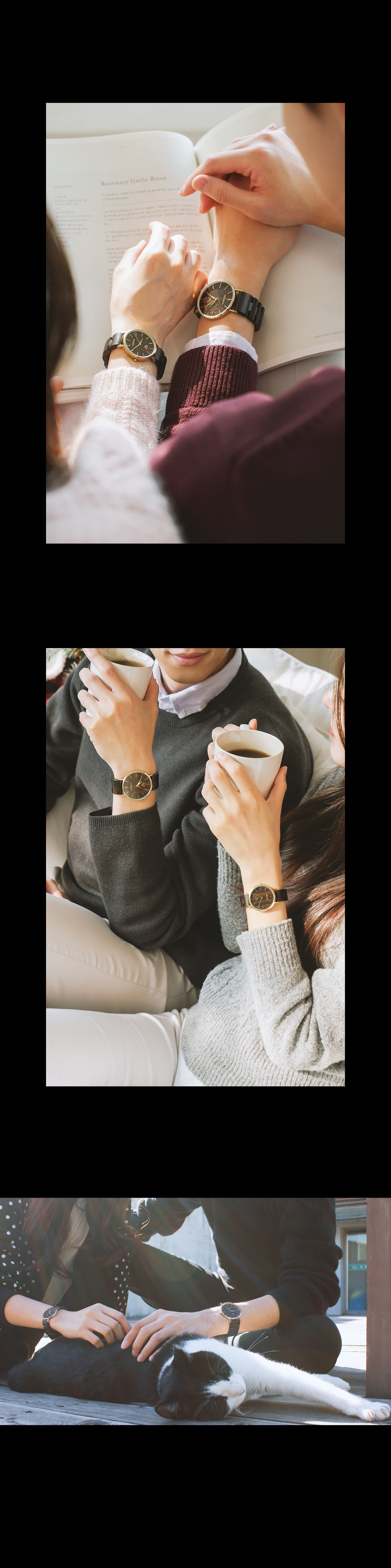 Union - Romantic Black W(Women) - 바우드, 149,000원, 여성시계, 패션시계